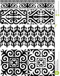 kazakh ornament stock vector image 44902676