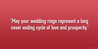 wedding quotes ring 29 delightful wedding wishes quotes