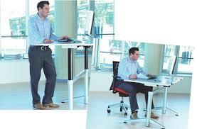 bureau pour travailler debout les bureaux assis debout peinent à séduire