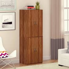 costway kitchen storage cabinet sideboard buffet cupboard wood