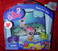 halloween lps littlest pet shop postcard seahorse 1011 lps lps pet shop and