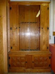 Home Made Cabinet - homemade gun cabinet plans simple wood hidden wooden corner