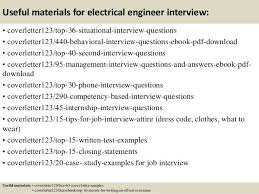 entry level electrical engineer cover letter samples and templates