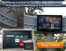 weatherproof outdoor tv enclosures the tv shield