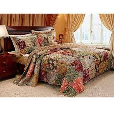 global trends antique chic quilt set walmart
