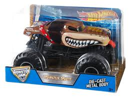 monster mutt truck videos amazon com wheels monster jam monster mutt brown die cast