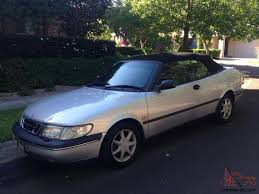 saab convertible 900 s 1996 silver convertible sport automatic in northmead nsw