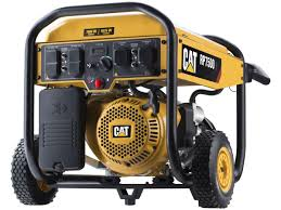 amazon com cat rp7500e gas powered portable generator with