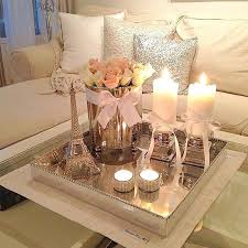 coffee table decorations coffee table decoration ideas ad amazing flower and candle coffee