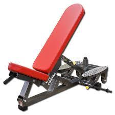 Power Bench Three Way Self Adjusting Weight Bench W Spotters Platform
