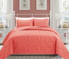 Queen Bed Coverlet Set Quilt U0026 Coverlet Sets