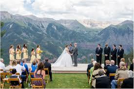 Colorado Weddings Mountaintop Telluride Colorado Wedding Colorado Wedding