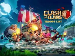 clash of clans all troops clash of clans troops list levelskip