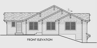house plans for sloped lots duplex house plans corner lot duplex plans d 534
