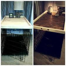 collection in dog kennel end table plans and ana white dog kennel