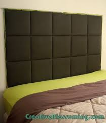 Diy Pillow Headboard How To Build A Bed Headboard Apartment