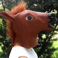 horse mask funny