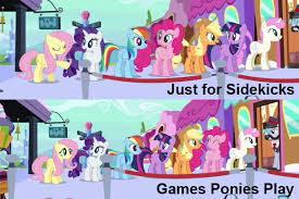 Mlp Easter Eggs Image Fanmade Sidekicks Comparison Png My