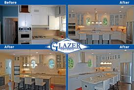 Kitchen Remodel Before And After by Home Renovation Before And After Glazer Construction Atlanta