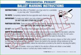 latex quote in box printing systems 459 b av ballot instruction sheets