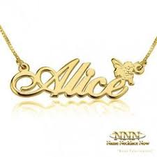 Necklace With Name Curved Bar Necklace With Name Bar Necklace Curves And Gold