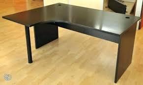 bureau angle verre noir ikea bureau angle bureau d angle ikaca ikea brusali corner desk