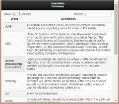 location bureau journ dictionary of journalism study apk free education app for