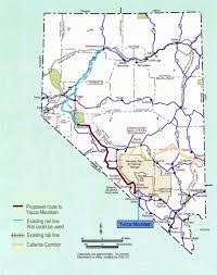 Washington State Printable Map by Eureka County Nevada Yucca Mountain Org