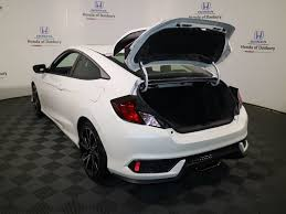 2017 new honda civic coupe si manual at honda of danbury serving
