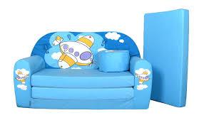 petit canape enfant lit enfant fauteuils canapé sofa pouf et coussin petit avion bleu