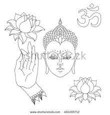 Decorative Buddha Head Buddha Hands Stock Images Royalty Free Images U0026 Vectors