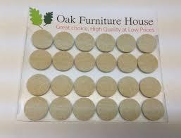 24 oak furniture self adhesive felt pads wood floor protectors