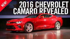 sixth camaro 2016 chevrolet camaro reveal sixth generation