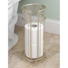 amazon com interdesign vine free standing toilet paper holder