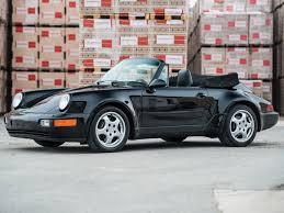porsche pouch rm sotheby u0027s 1992 porsche 911 america roadster amelia island 2017