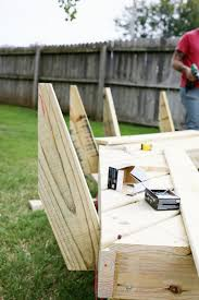 Firepit Benches Build Your Own Curved Pit Bench A Beautiful Mess