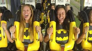 Call Six Flags Over Texas Six Flags Over Texas Opens Batman The Ride Backwards