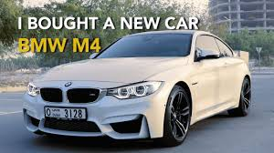 car bmw i bought a new car bmw m4 youtube