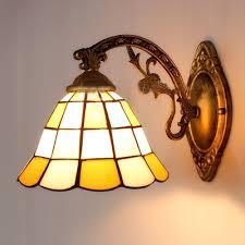 Tiffany Sconces Fashion Style Wall Sconces Yellow Tiffany Lights Beautifulhalo Com