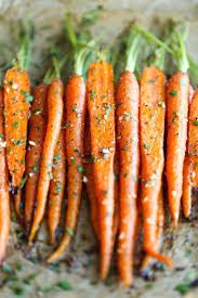 garlic roasted carrots damn delicious