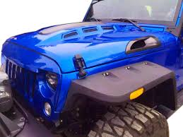 jeep hood vents genssi avenger style abs hood for jeep wrangler jk 2007 2016