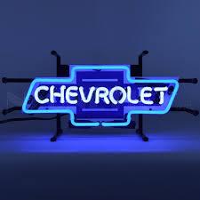 texas tech neon light chevrolet bowtie neon sign vintage sign shak