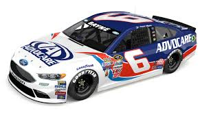 paint schemes roush fenway racing and trevor bayne unveil darlington throwback