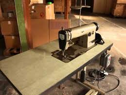 Upholstery Machine For Sale Juki Ddl 555 Industrial Sewing Machine For Sale Youtube