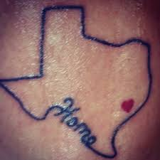 18 outline texas tattoos