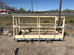 Landscape Trailer Basket by Skid Loader Rental Excavator Rental Utility Trailer Mesa