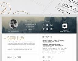 resume awesome free resume website examples of creative graphic
