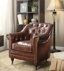 Brown Leather Accent Chair Brown Leather Accent Chair Modern Chair Design Ideas 2017