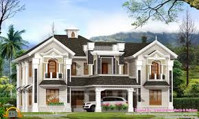 colonial style home plans colonial style home plan house designs in kerala at