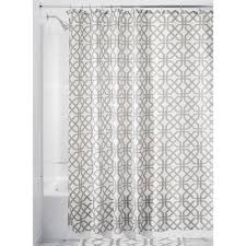 amazon com interdesign trellis fabric shower curtain 72